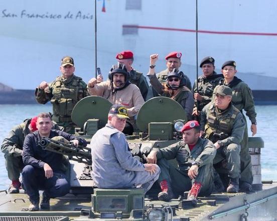 Este martes inician los ejercicios militares convocados por el régimen del dictador Nicolás Maduro en la frontera con Colombia
