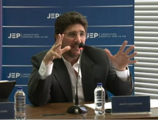 Audiencia de David Char en la JEP: Sus confesiones sobre su alianza con las AUC y cómo llegó a ellos