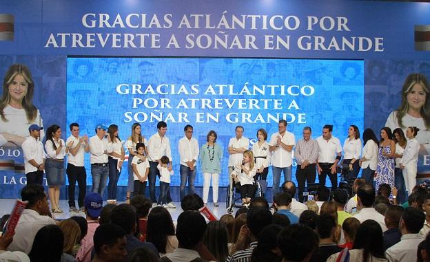 Más de 680.000 atlanticenses eligieron a la ex alcaldesa de Barranquilla como la nueva gobernadora del Departamento.
