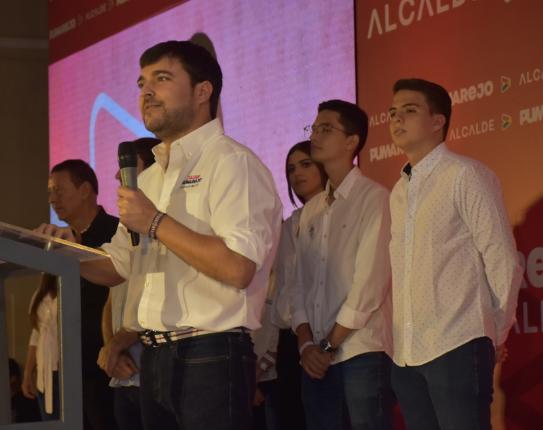Pumarejo agradeció a todos a los Barranquilleros que votaron por él, e hizo un llamado a quienes no lo hicieron