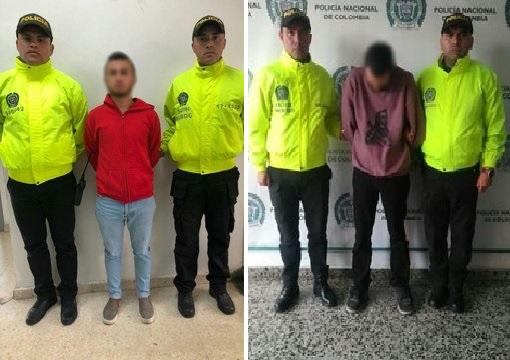 Policía allana 27 lugares previo a la marcha del 21 de noviembre. Captura a alias Chiqui y a alias el Diablo e incauta material para uso de explosivos y capuchas en Bogotá