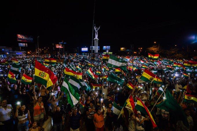 48 horas tiene Evo Morales para dejar el poder en Bolivia: Advirtió Fernando Camacho líder del Comité Cívico Pro Santa Cruz