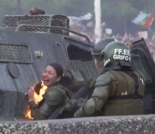 CHILE MUJERES POLICÍAS