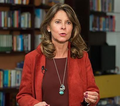 No es momento para dejarnos llamar a odios, ni a destrucción: Vicepresidenta Marta Lucía Ramírez