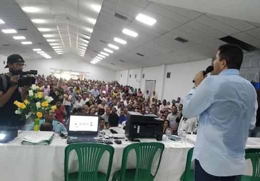 Rodolfo Ucros recibió su credencial como Alcalde de Soledad. Y se dispone a gestionar recursos para sacar adelante a su municipio