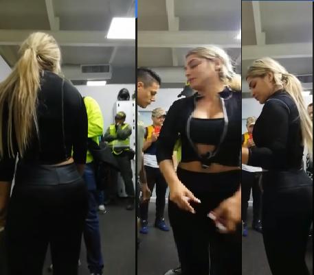 Mujer fue capturada en un gimnasio del norte de Barranquilla por los presuntos delitos de uso menores de edad para delinquir, tráfico de drogas y fabricación de estupefacientes