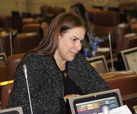 Martha Villalba, representante a la Cámara y autora del proyecto de Cadena Perpetua