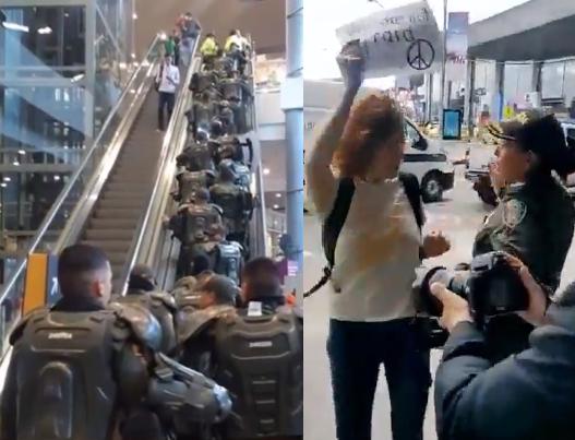 PROTESTA EN EL DORADO 1