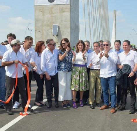 Puente Pumarejo obra de Germán Vargas Lleras inaugurado este viernes por el presidente Iván Duque
