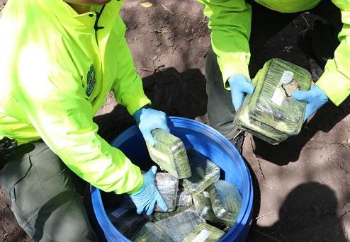En zona rural de Ponedera, Atlántico hallan caleta y cristalizadero de cocaína
