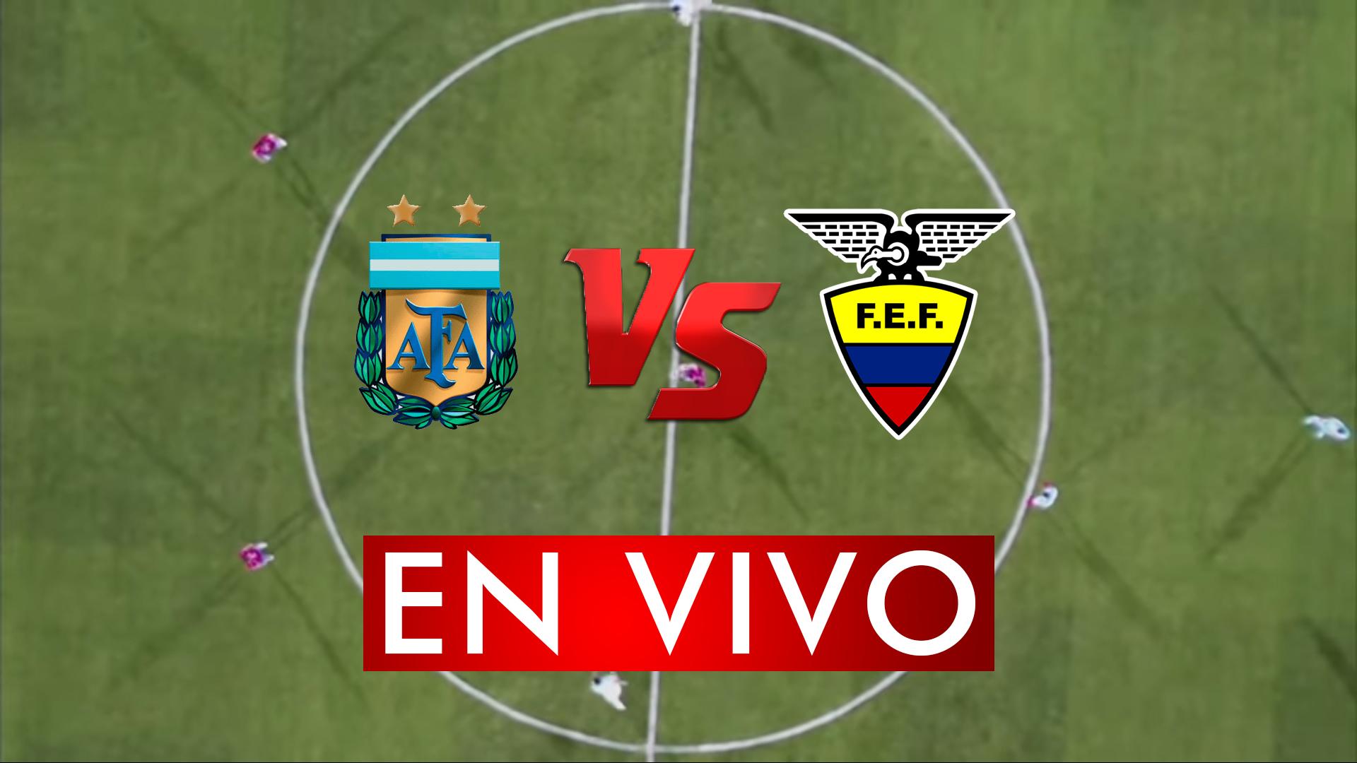Argentina vs Ecuador En Vivo Online Live Preolimpico 2020