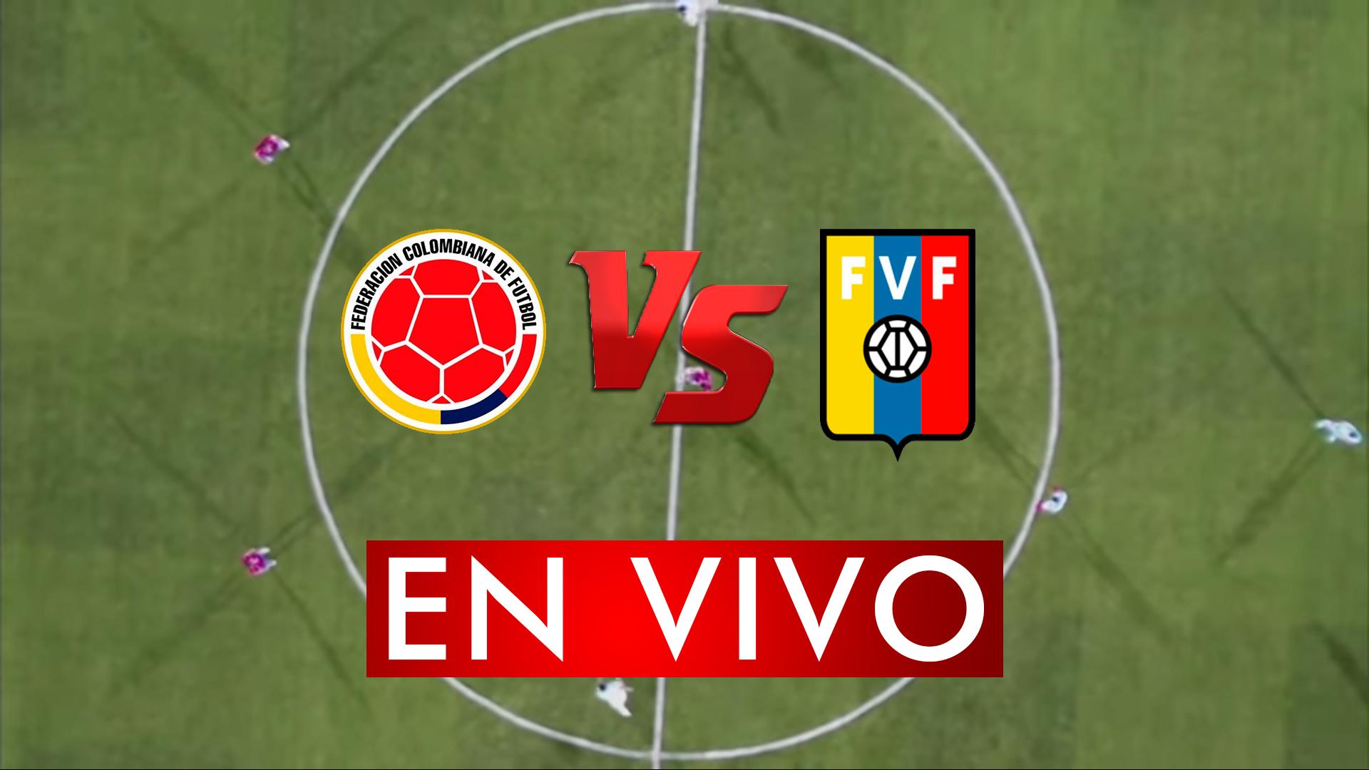 Colombia vs Venezuela en Vivo Online Live preolimpico Lunes 27 de Enero