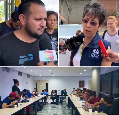 Alma Riquett, Defensora del Pueblo y la Gobernadora Elsa Noguera intervienen en el caso de UniAtlántico. Tomistas insisten en continuar con el Paro