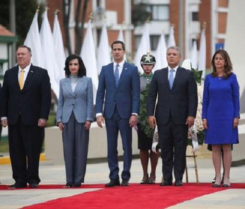 Guaidó denunció en Cumbre del Terrorismo los vínculos de Hezbollah, el ELN y las FARC con el régimen de Nicolás Maduro
