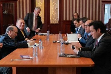 Objetivo final del viaje del Secretario de Estado es un un Hemisferio de Libertad