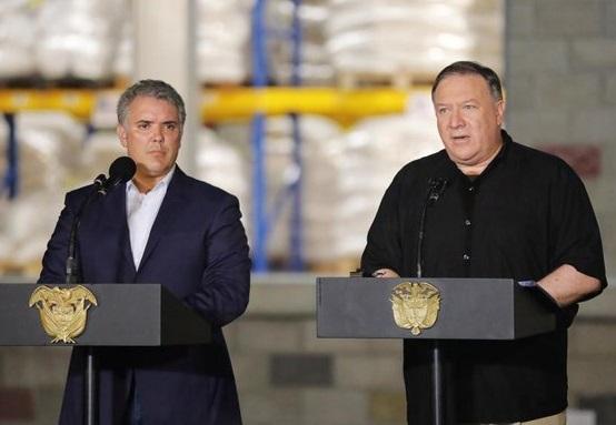 Mike Pompeo en Colombia: EEUU contra el Terrorismo mundial, centro de la Cumbre Internacional con 20 países