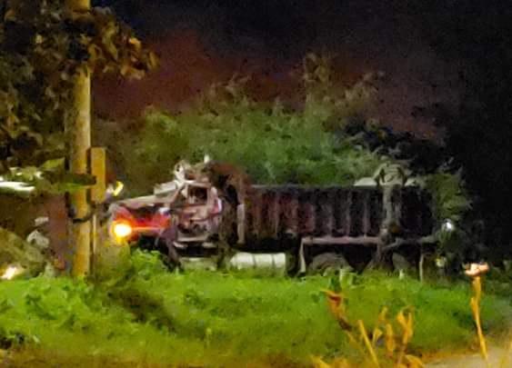 Terroristas lanzan siete cilindros bombas con tiro parabólico desde rampas contra la Base de la Fuerza Aérea en Yopal Casanare