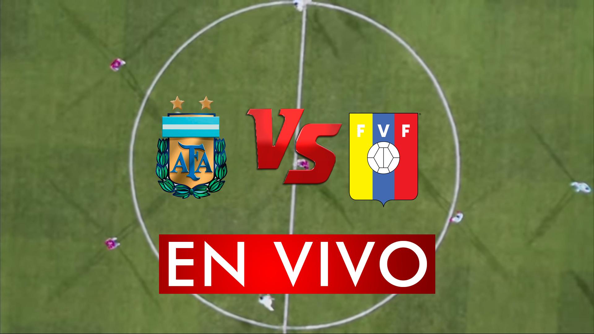 Argentina vs Venezuela en Vivo Online Live por Preolimpico