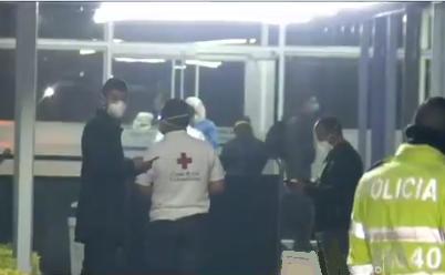 Pasan en Bogotá su primera noche de 14 días de cuarentena las personas que regresaron de Wuhan, China junto con los tripulantes de la aeronave Júpiter de la FAC