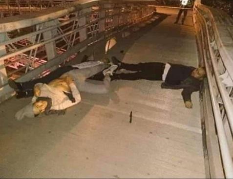 Delincuentes dados de baja por un médico en el puente de la 123 en Bogotá, lo agredieron al parecer querían secuestrarlo