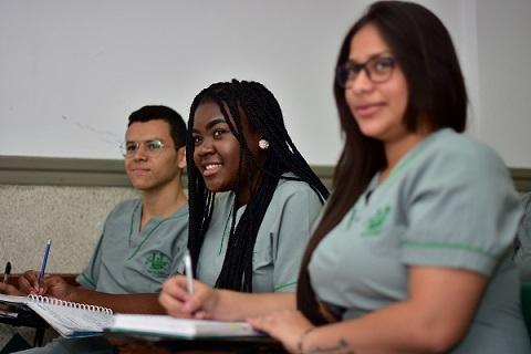 Estudiantes del programa de Psicología de Unisimón