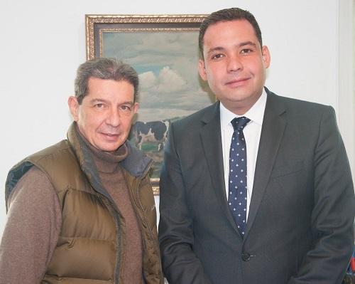 Foto Lafaurie con Gobernador de la Guajira - Nemesio Roys Garzón-JPG