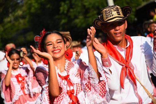 Cerca de 65 mil carnavaleros, en 1.150 grupos folclóricos, en 220 eventos festivos, participaron en el Carnaval de Barranquilla apoyados por el Portafolio de Estímulos de la Gobernación.