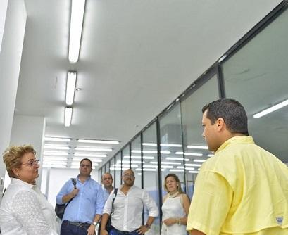 Monsalvo se propone fortalecer la sede de la Universidad Nacional en la Paz Cesar, que cuenta con seis carreras y cerca de 500 estudiantes
