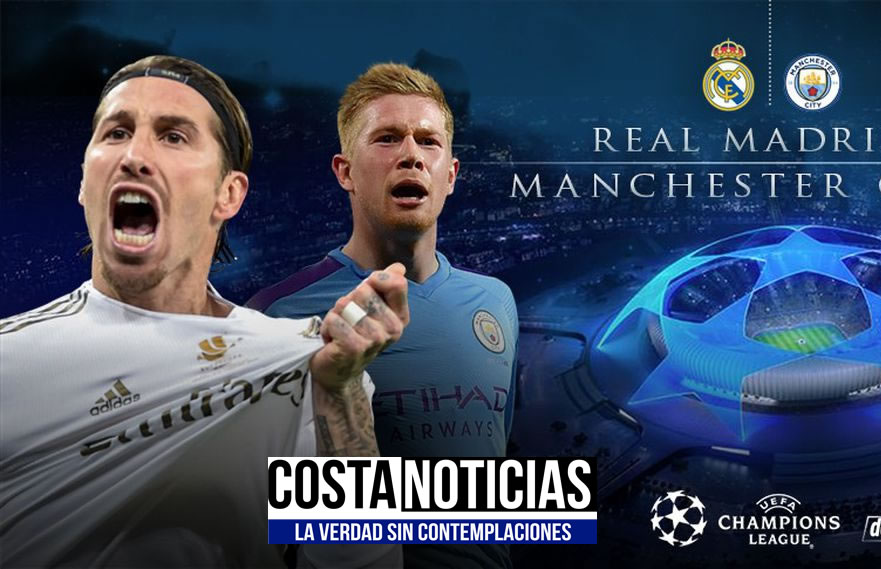 Real Madrid vs Manchestar City en vivo online por champions league