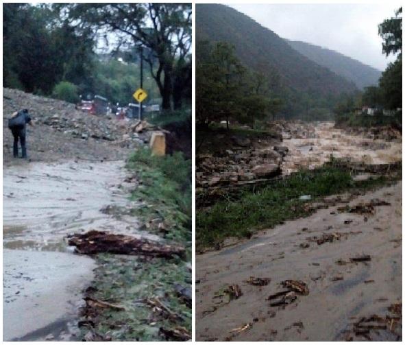 Varias quebradas y ríos en Piedecuesta y San Gil Santander provocaron terribles desastres: 3 personas fallecidas, no menos de 10 desaparecidas, varias heridas y la vía entre Bucaramanga y Bogotá permanece cerrada