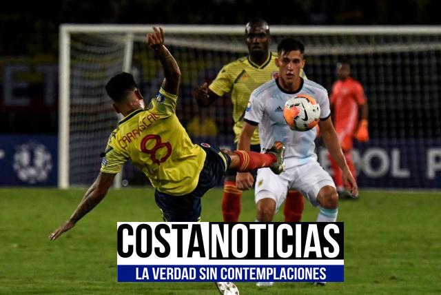 Argentina vs Colombia en Vivo Online por Preolimpico Jueves 6 de Febrero