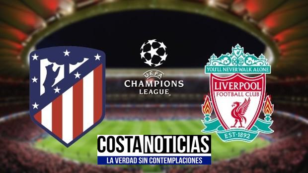 Atlético Madrid Liverpool en vivo ver partido online