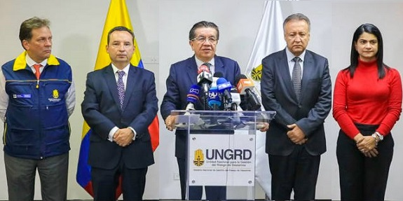 4 zonas decretadas por Minsalud como zonas fronterizas de riesgo de ingreso del COVID19: La Guajira, Norte de Santander, Nariño y San Andrés