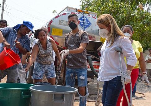 Más de 20 mil atlanticenses han recibido agua potable