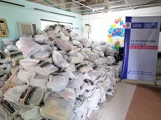 Prosperidad Social entregará En La Guajira, 32 toneladas de alimento incautadas por la DIAN