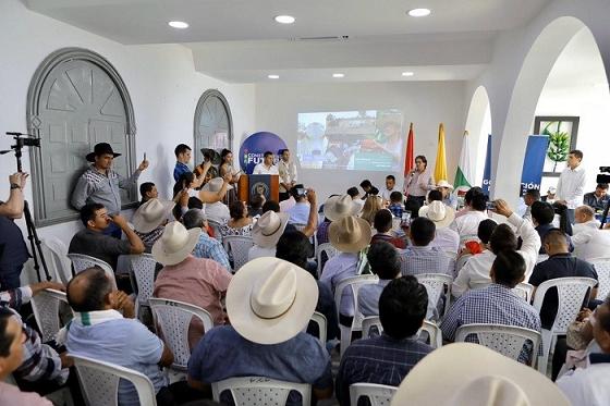 Reunido con ganaderos y agricultores de Arauca, MinAgricultura acordó acciones concretas para apoyar agro de la región