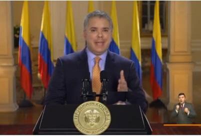 Pruebas de Covid-19 al Presidente Iván Duque y alcaldesa de Bogotá Claudia López han resultado negativas.