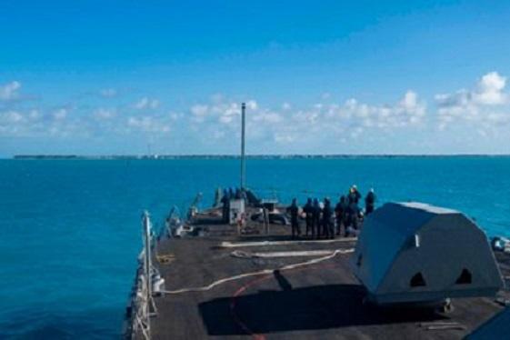 Avanzan las naves estadounidenses hacía aguas en el mar Caribe, con la mira en el régimen de Nicolás Maduro