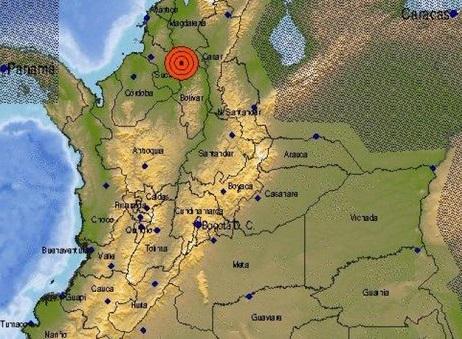 A las 6:00 de la mañana tembló fuertemente en la Costa. El sismo fue de 5.7 con epicentro en Mompox, Bolívar