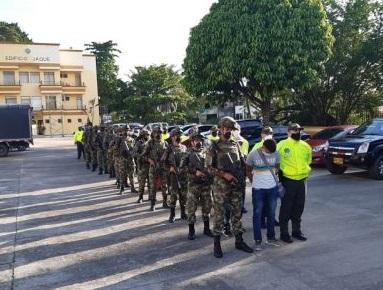 Fueron 19 los capturados de la subestructura Jorge Iván Arboleda del Clan del Golfo, en Antioquia