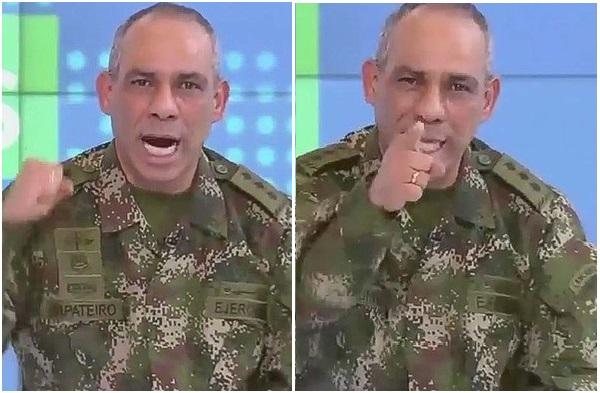 El General Zapateiro en un mensaje de apoyo a sus soldados, advierte a las víboras venenosas y perversas que no se dejarán vencer!