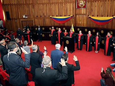 El Tribunal Supremo del régimen comunista de Maduro eligió un nuevo Consejo Nacional Electoral, de forma ilegal usurpando los derechos de la Asamblea Nacional