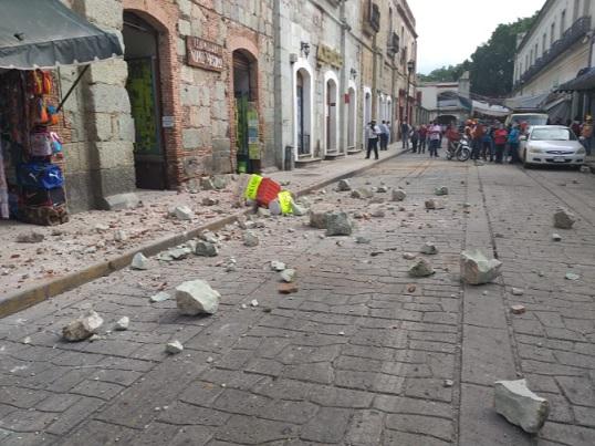 Fuerte sismo de 7.5 en Oaxaca México tiene en alarma gran parte del territorio del Pacífico ante amenaza de Tsunami. Alcanza a otros países de Centroamérica