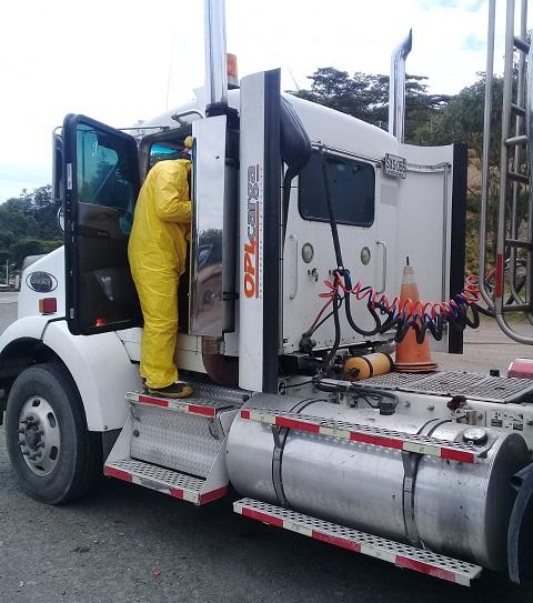 Javier Prada, de OPL Carga SAS, afirmó que se mantienen en las carreteras y con medidas estrictas de bioseguridad en el movimiento de carga