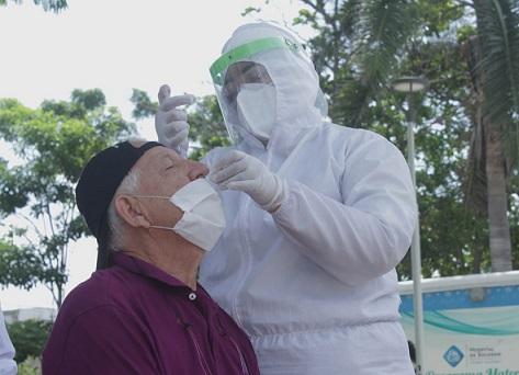 Municipio de Soledad realiza jornadas de prevención y para detectar contagiados de Covid-19