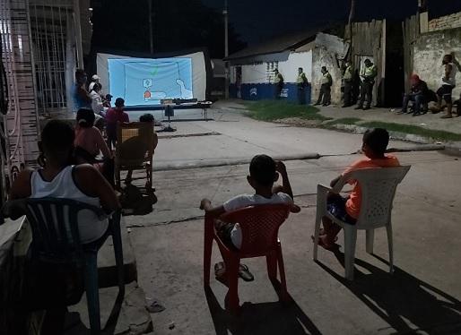 Concluyó el cerco sanitario en el suroriente de Barranquilla, luego de 17 días de vigilancia y acompañamiento día y noche del sector