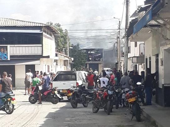 Ejército frustra atentado contra Estación de Policía de Corinto Cauca, da de baja a un terrorista y captura a otro