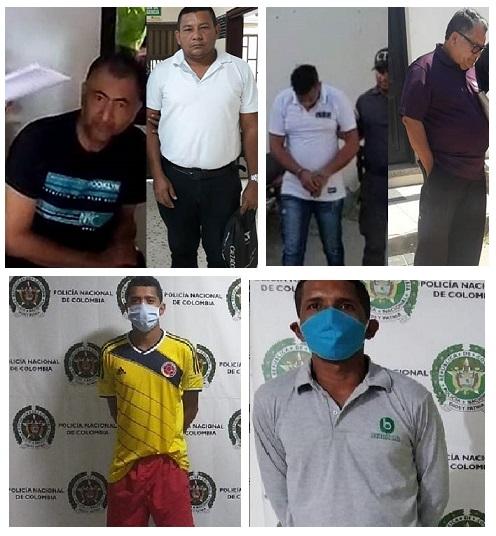 Dentro de la jornada de capturas contra depravados sexuales caen 6 docentes que abusaban de menores en el Magdalena.