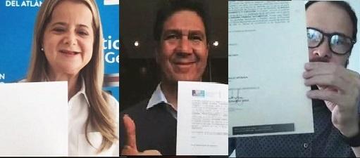Elsa Noguera firmó un convenio con Bancoldex y la Cámara de Comercio de Barranquilla con el que busca finanzas para los micro y pequeños empresarios