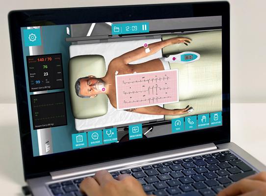Unisimón implementa novedosa herramienta para desarrollo de la práctica clínica simulada